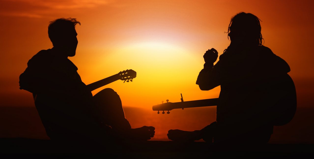 sunset jam session